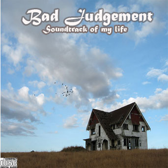 Bad Judgment CD Cover by cantdecode