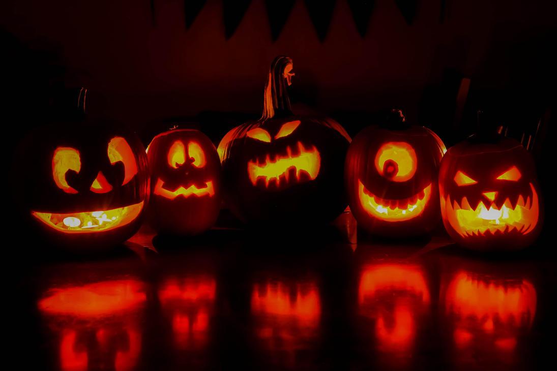 Halloween JACK O LANTERNS by Ericseye