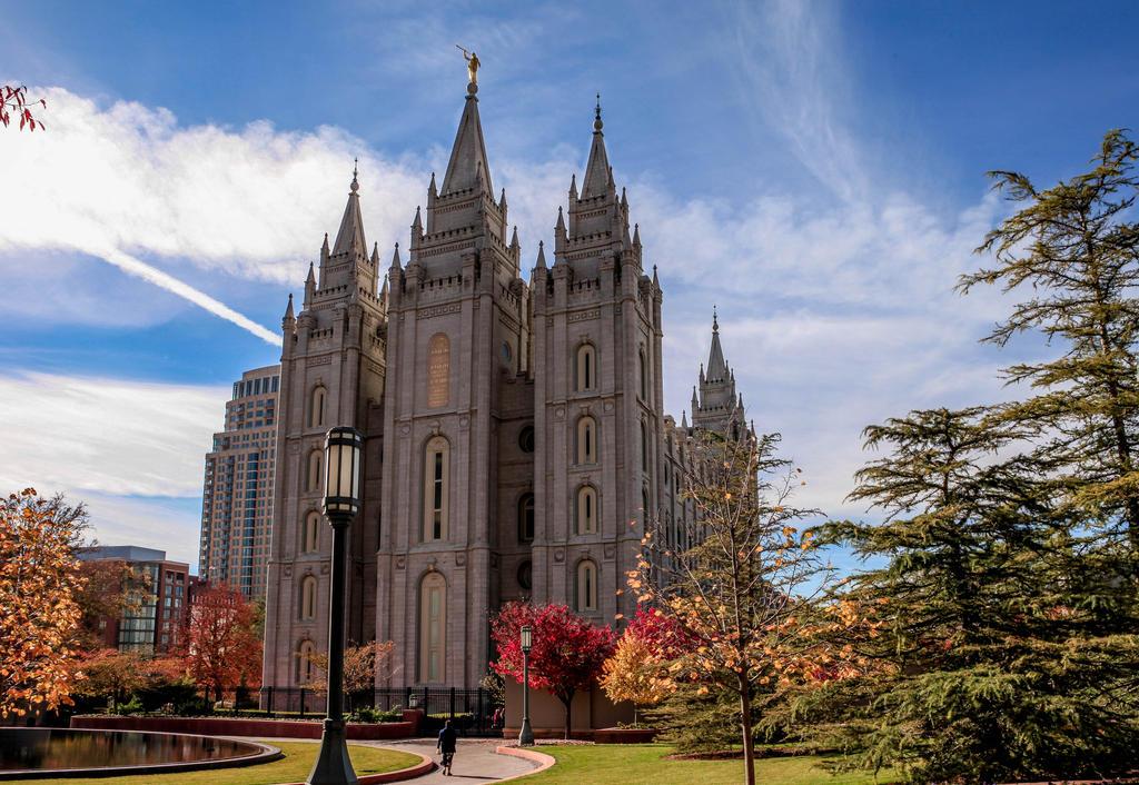 Salt Lake Temple by Ericseye
