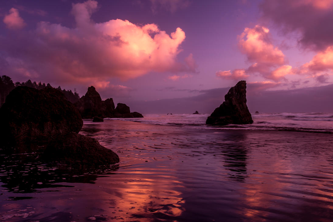 Ruby Beach, Washington by Ericseye