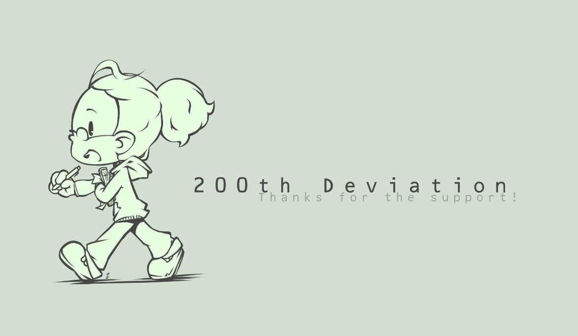 200th deviation by Lumaga
