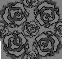 Roses pattern by Lumaga