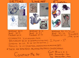 2017 commission prices, closed