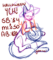 Halloween ych: OPEN by crystal-w1tch