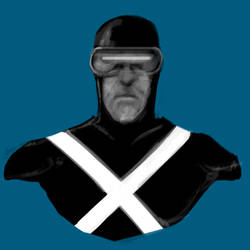 Bust: Cyclops by frogman354