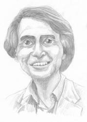 Carl Sagan by swfan444