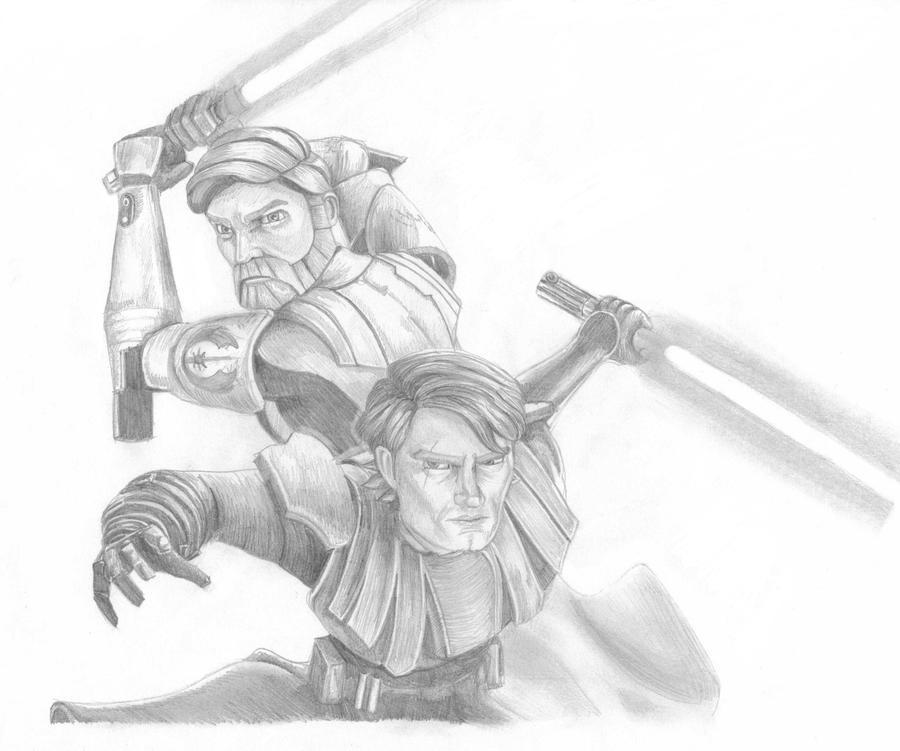 The Clone Wars: Obi-Wan and Anakin