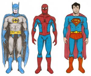 Superheroes- The Big Three