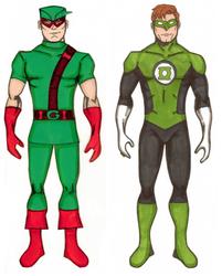 Superheroes- Green Guys