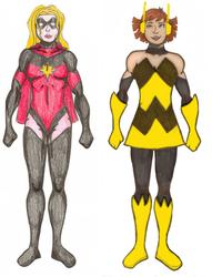 Superheroes- Marvel Women