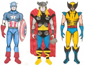 Superheroes- Marvel Men