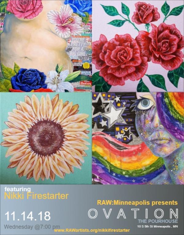 Nikki Firestarter-RAW Minneapolis presents OVATION by NikkiFirestarter