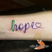 Hope Tattoo by NikkiFirestarter
