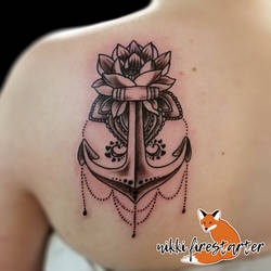 Anchor Lotus by NikkiFirestarter
