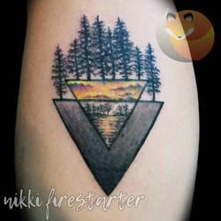 Geo Nature Tattoo