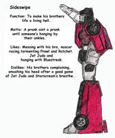 Sideswipe's Bio by Scream01