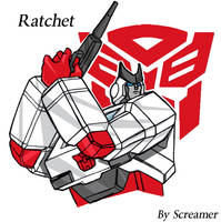 Ratchet looking good.. by Scream01