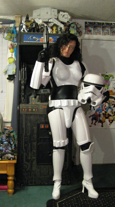 My Star Wars Femme Trooper by Scream01