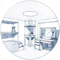 Bedroom of tomorrow