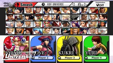 Super Smash KOF XIV