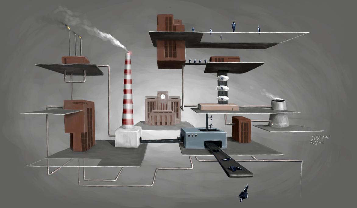 The Factory by nidraj-rion