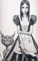 Alice in Wonderland by bjjlenore
