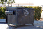 Dumpster tag 1