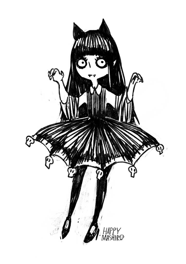 little vampire girl by happy-mashiro on DeviantArt