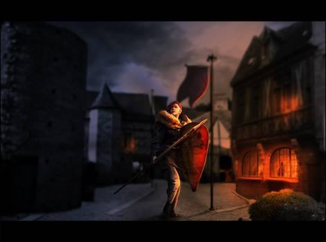 [COMM] _____ the warrior.