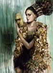 gold masquerade