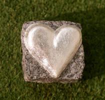 Heart Silver plated Herz versilbert