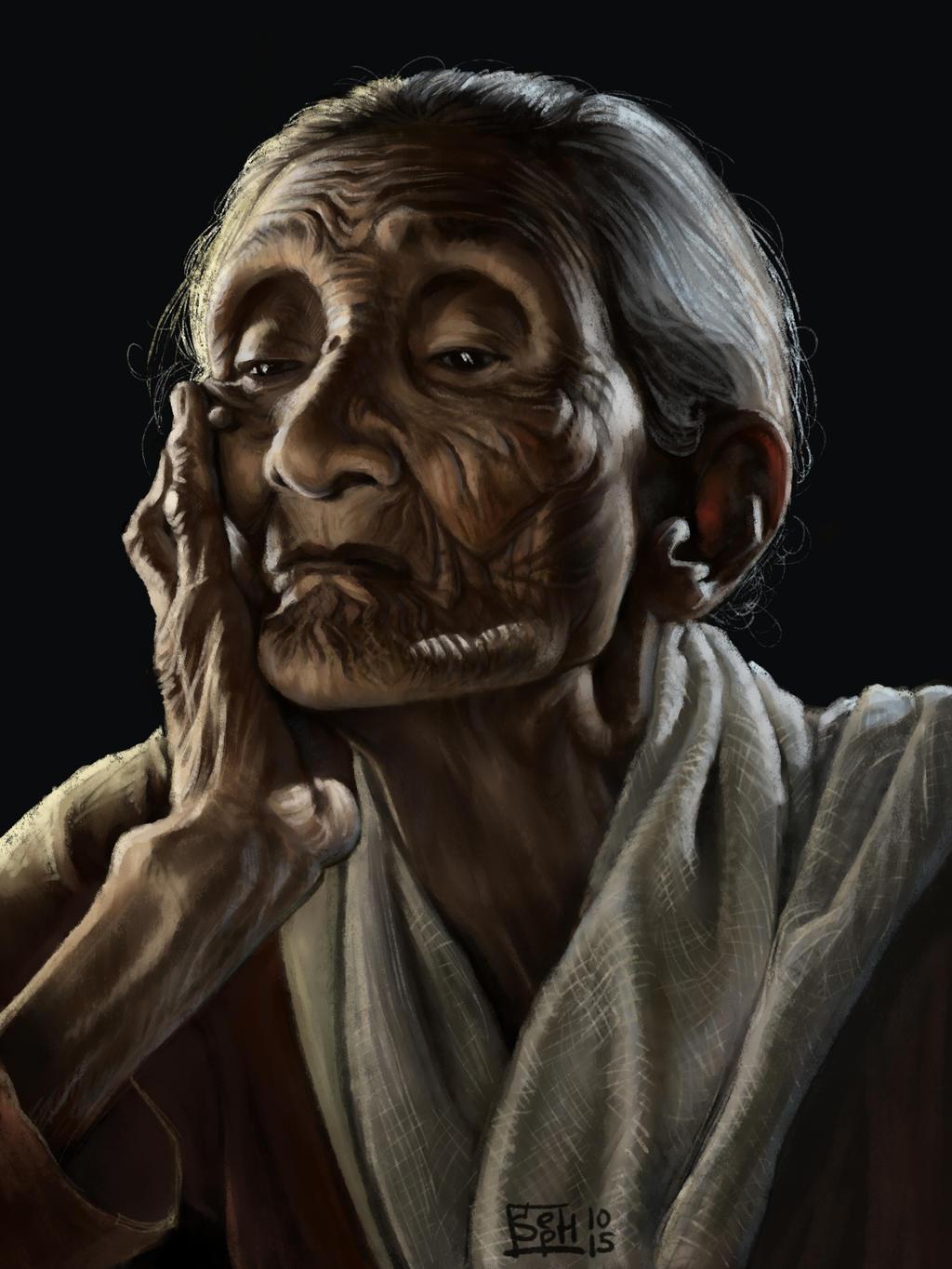 Portrait Challenge #15 By Sephinka On DeviantArt