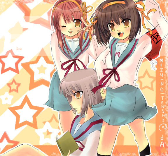 SOS:girls by Mizu-no-Tenshi