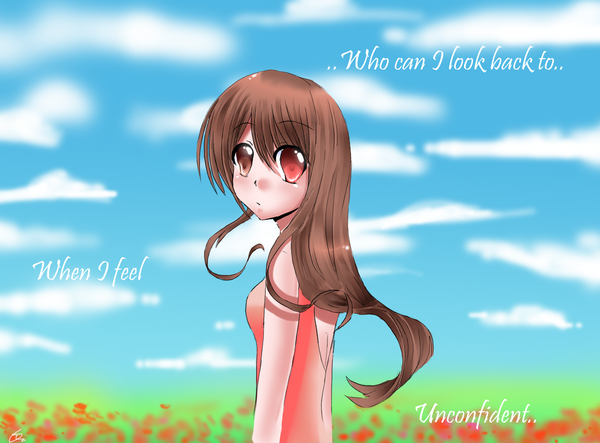 DFT:When I'm unconfident by Mizu-no-Tenshi
