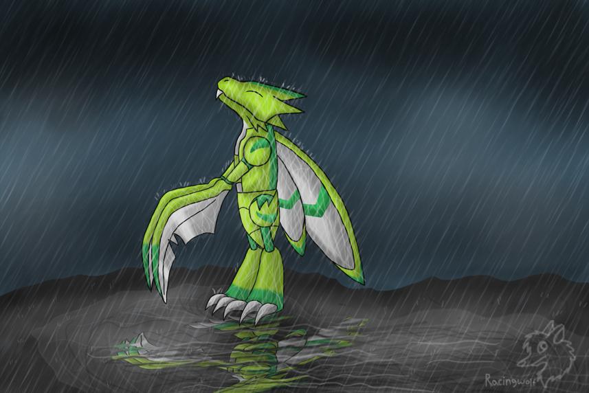 30. Under the Rain by racingwolf