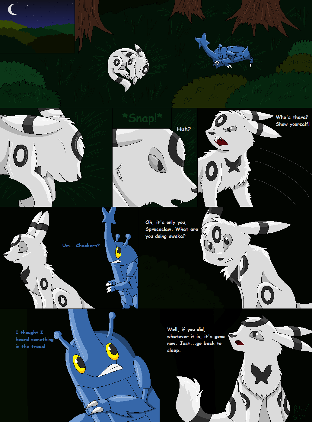Shadowed Secrets Page 3 by racingwolf