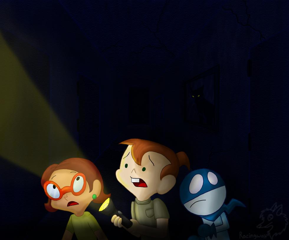 Wandering in the Dark by racingwolf