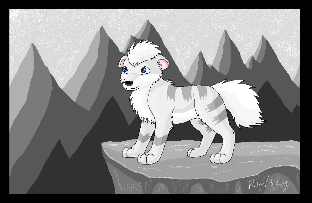 Snow Mountain by racingwolf