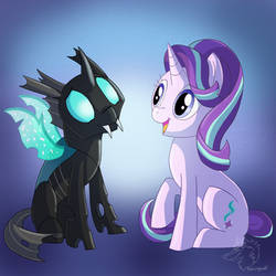 Friendship is Magic by racingwolf