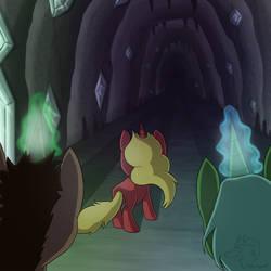 Into the Dark by racingwolf