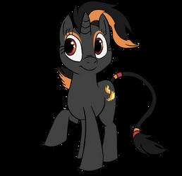 Pony of Wild Flames