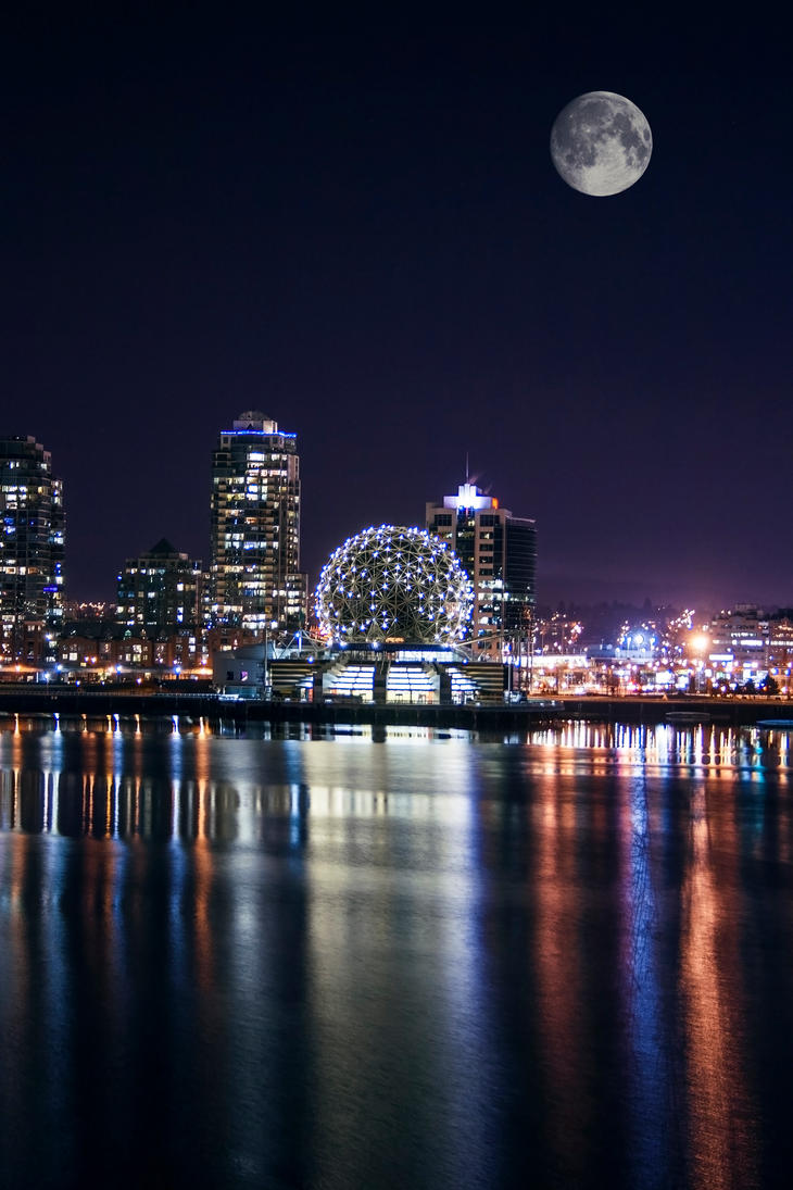 Vancouver Night 04 by digital-uncool
