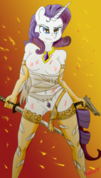 Rarity Warrior by RaserTF