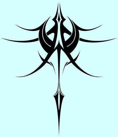 Spire Tattoo II - shoulder tattoo