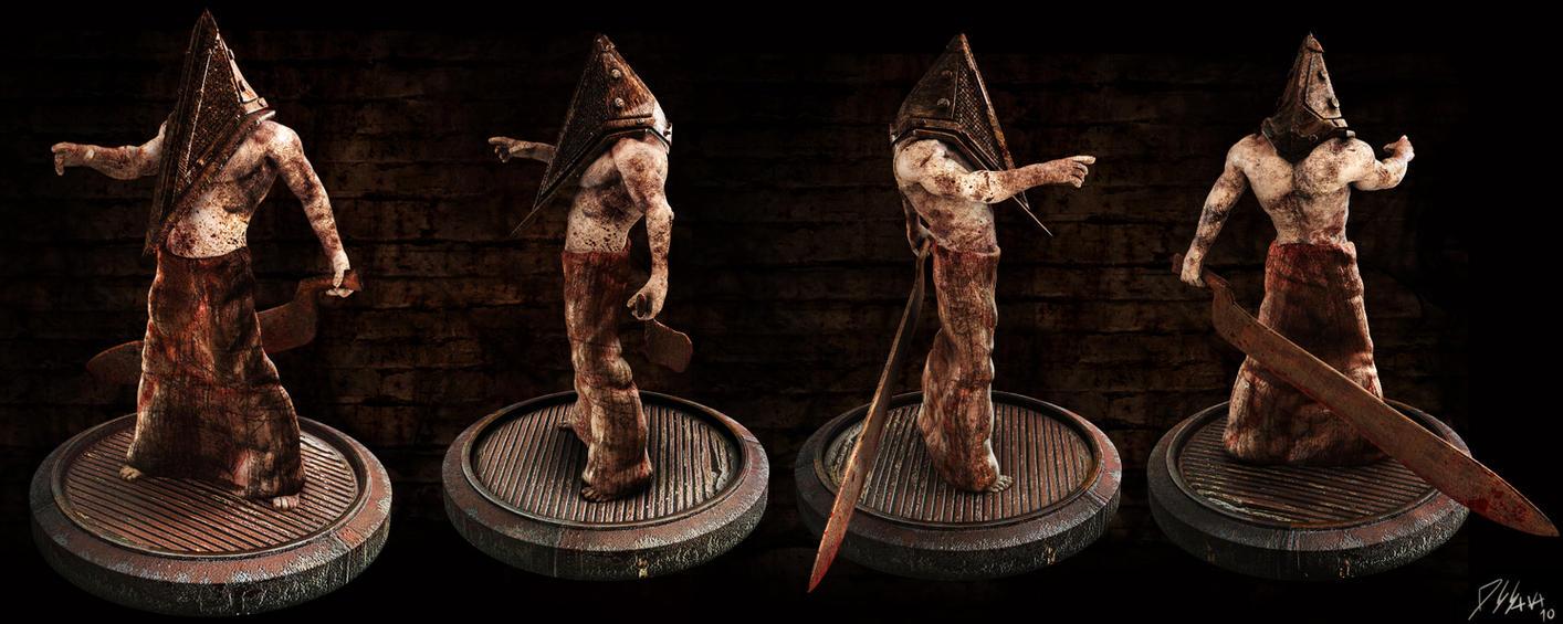 Pyramid Head 2 -Silent Hill- by Batatalion on DeviantArt