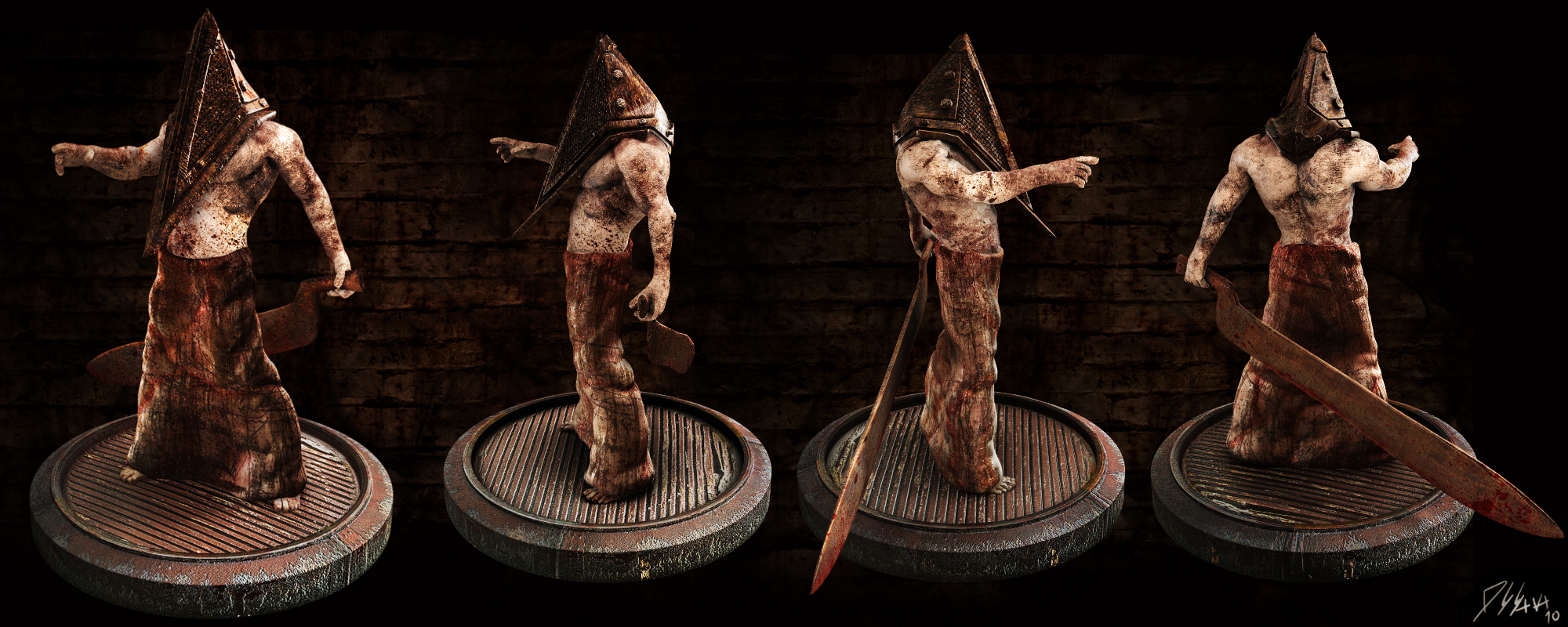 Pyramid Head 2 Silent Hill By Batatalion On Deviantart