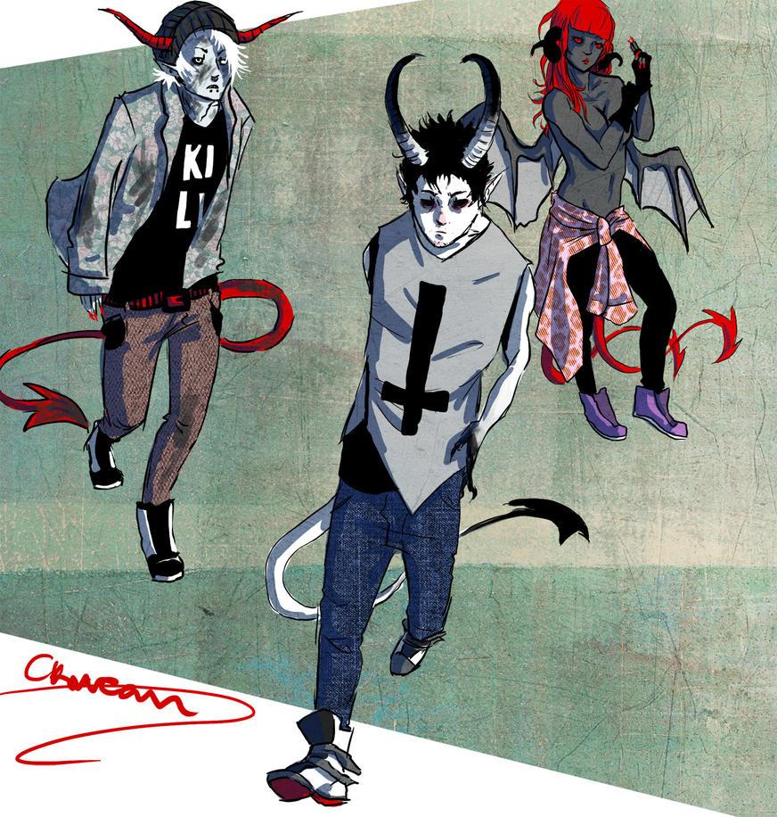 Demons by Ckirean