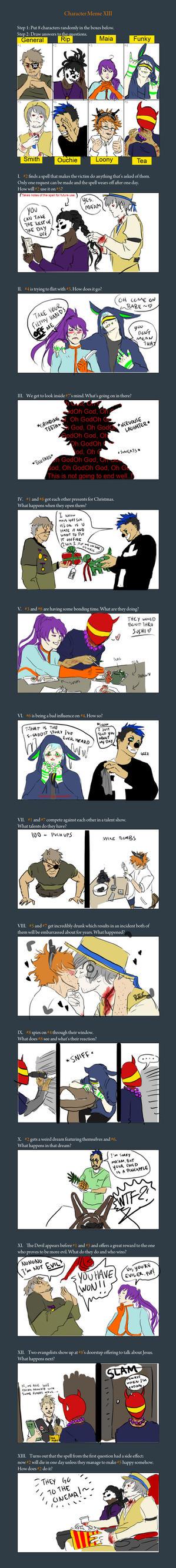 Hell(p) meme by Ckirean