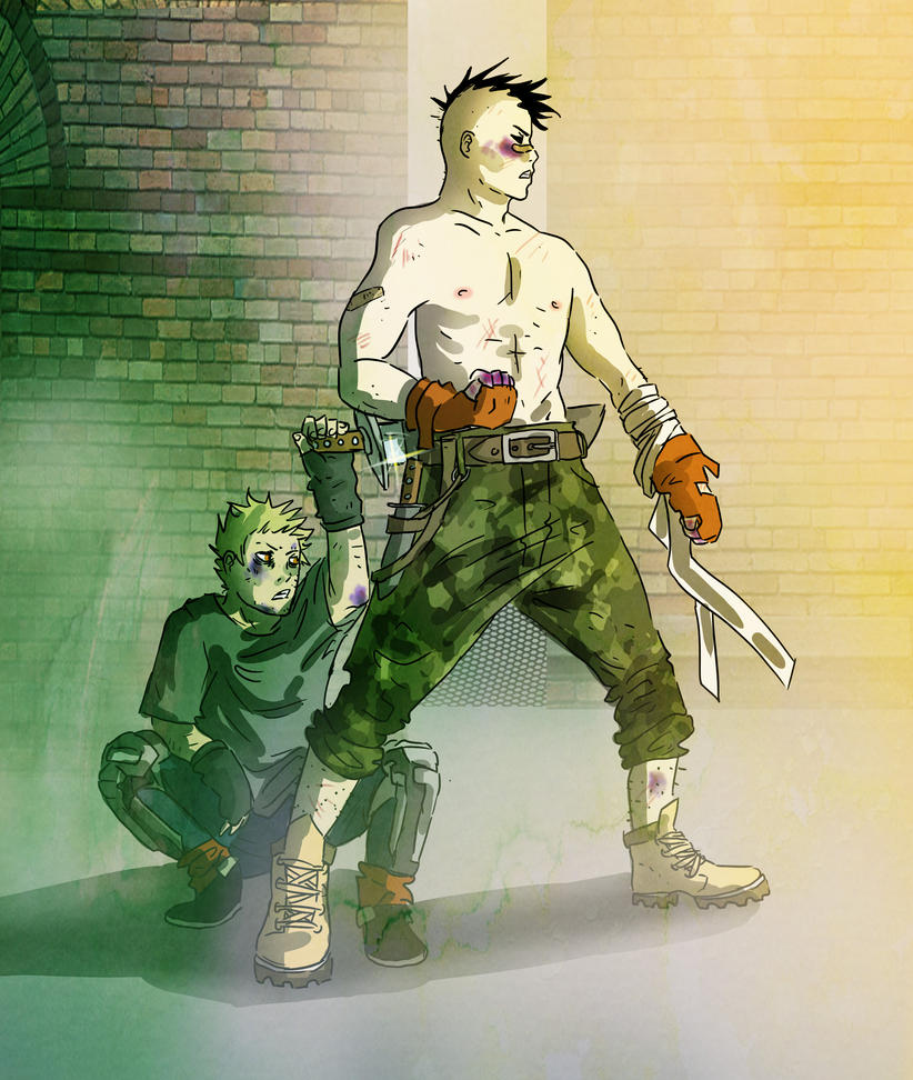 Fight by Ckirean
