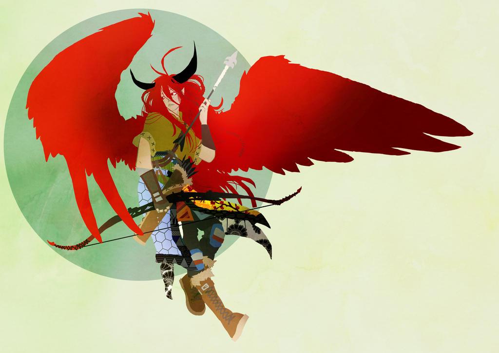 Hell Angel by Ckirean